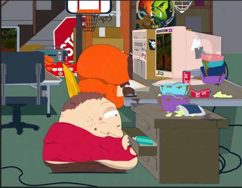 "from South Park ""Make Love, Not Warcraft"". Check it out here: http://www.southparkstudios.com/full-episodes/s10e08-make-love-not-warcraft"